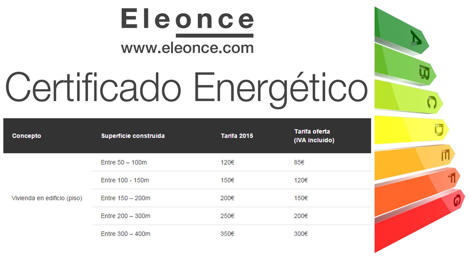 ¿Necesitas un Certificado de Eficiencia Energética?