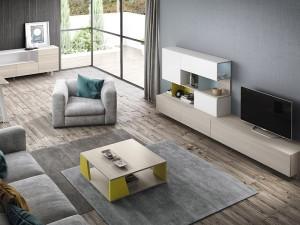 alfombras superpuestas.foto muebles & cocinas