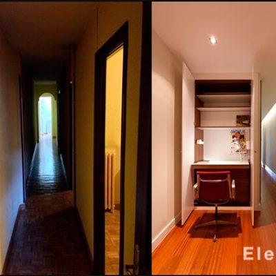 Antes y después barrio Salamanca.