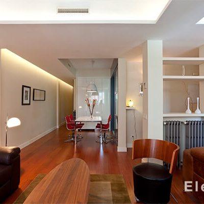 Diseño interior vivienda Madrid Eleonce.