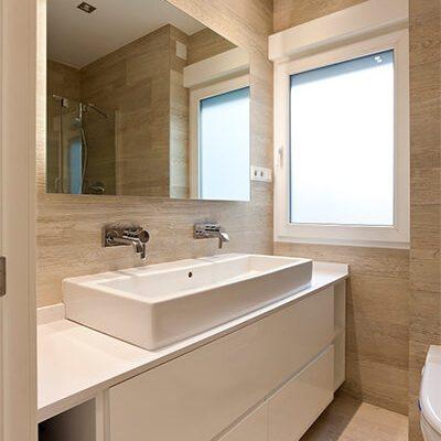 Obra baño piso Madrid Eleonce.