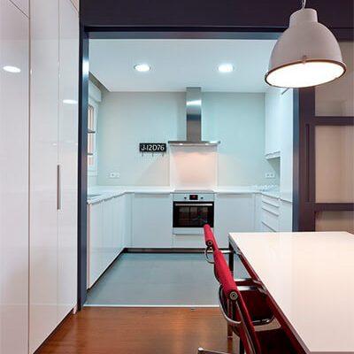 Obra cocina vivienda Madrid Eleonce.