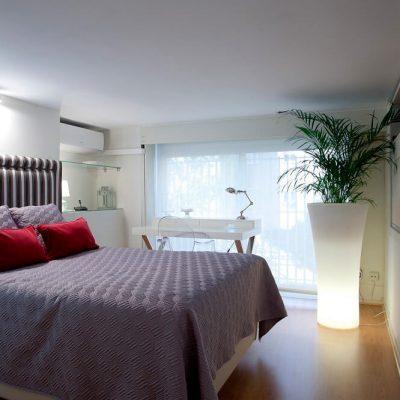 Decoración habitación piso Madrid Eleonce