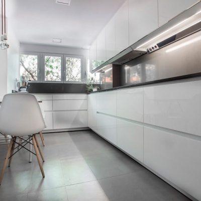 Diseño cocina piso Madrid Eleonce.
