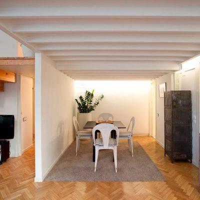 Diseño vivienda moderna Chamberi Madrid Eleonce