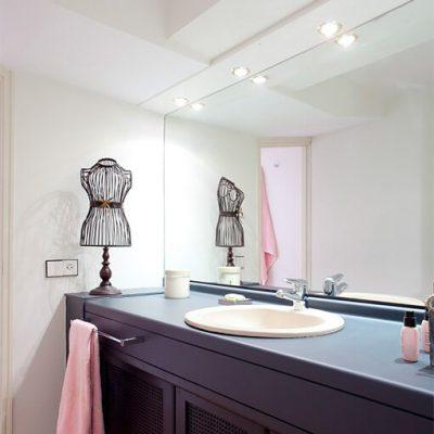 Reforma baño moderno piso Chamberi Madrid Eleonce