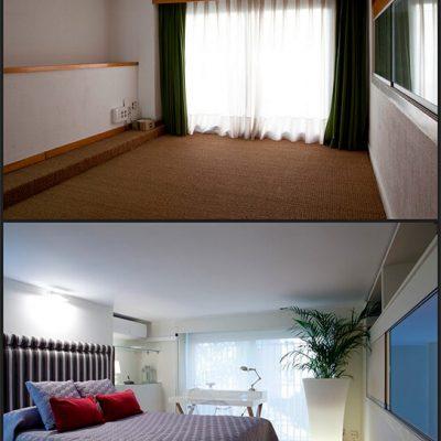 Reforma de despacho a habitación Madrid Eleonce