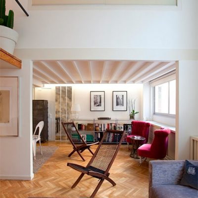 Reforma de oficina a vivienda Madrid Eleonce