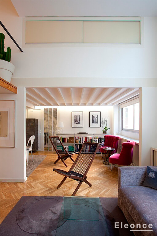 Reforma de oficina a vivienda madrid eleonce eleonce arquitectura interiorismo - Reforma vivienda madrid ...