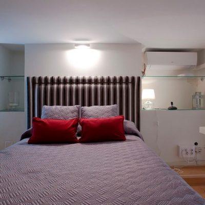 Reforma dormitorio piso Chamberi Madrid Eleonce