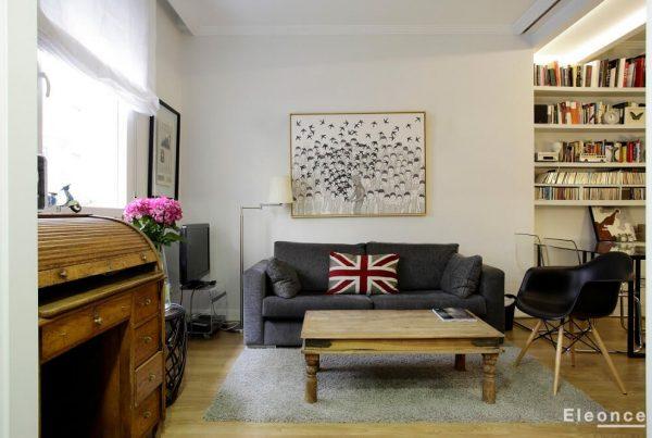 Reforma vivienda en Chamberi Madrid Eleonce