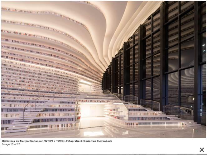 Biblioteca Pública de Tianjin. MVRDV Architects